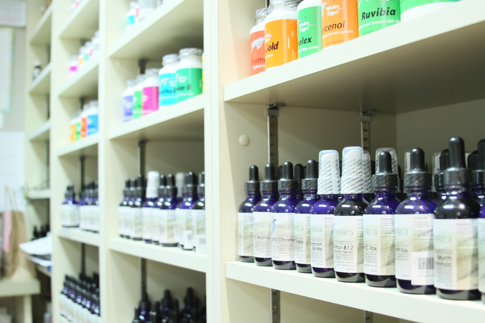 A sampling of medicine available at Integrative.